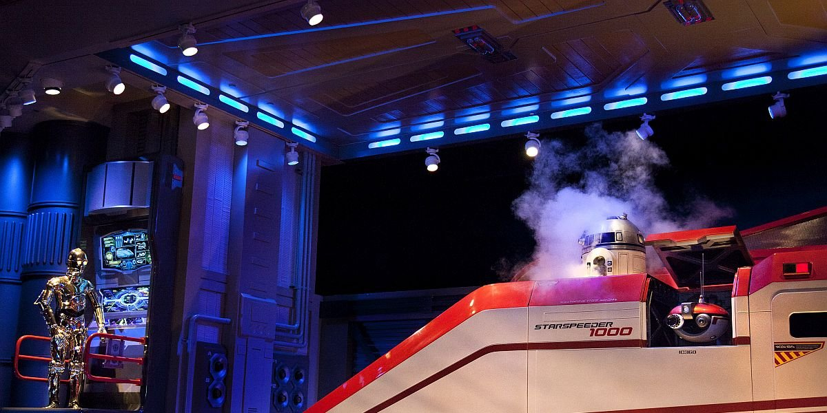 Why Star Tours Couldn't Add One Component George Lucas Really Wanted
