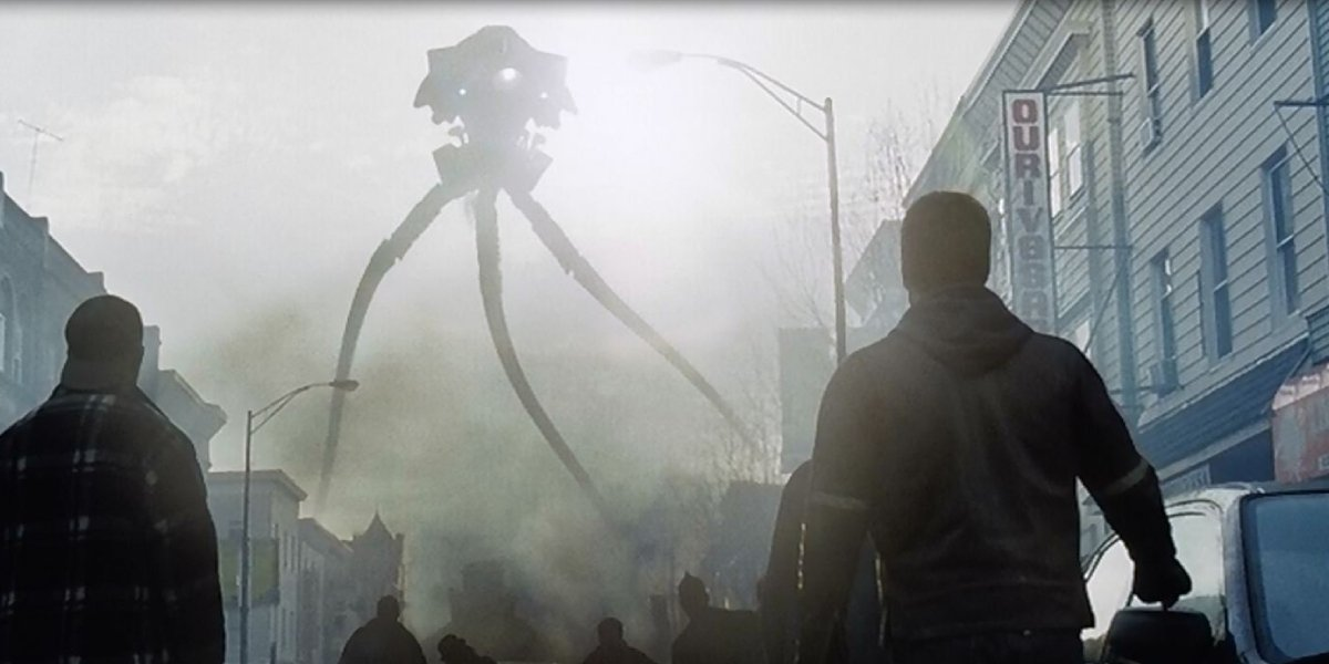 The Tripod emerges in War of the Worlds