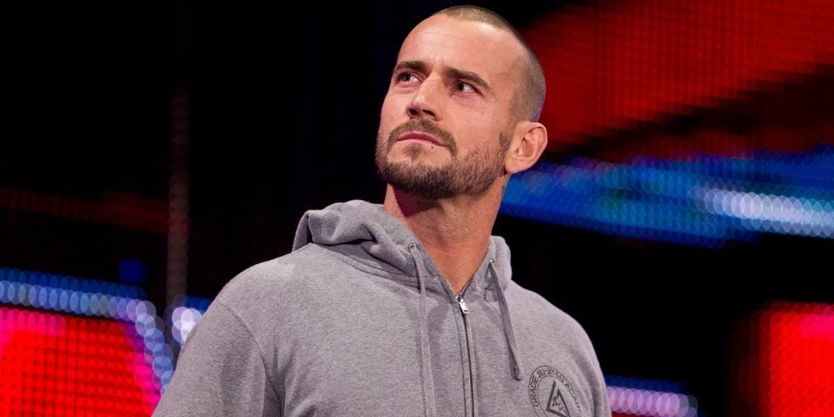 CM Punk looking off into the distance