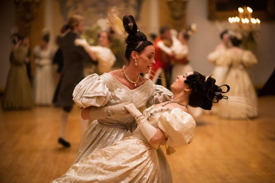 Anne and the Queen dance in Copenhagen