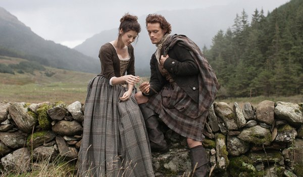 outlander jamie claire scotland