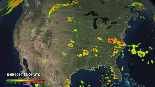 GMP rain map