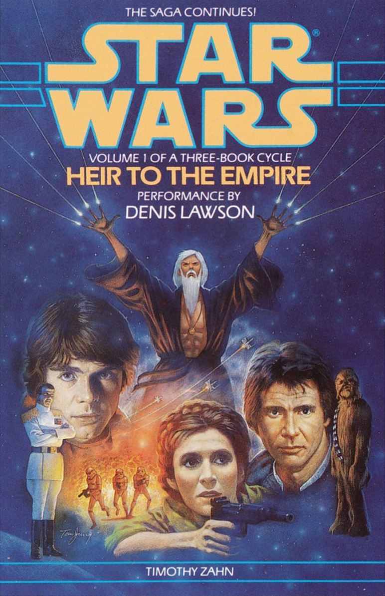 The book that brought Star Wars back into public consciousness