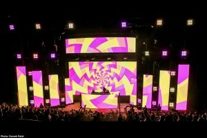 XL Video Lights Up Red Rocks Amphitheater