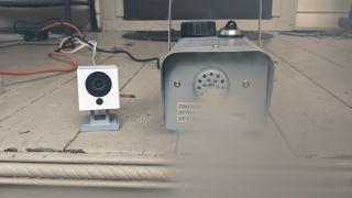 Make a Raspberry-Pi powered, person detecting fog machine
