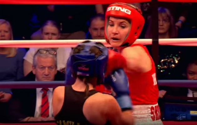 Sport Relief 2018: Countryfile's Helen Skelton 'batters' Love Island's Camilla Thurlow in boxing match