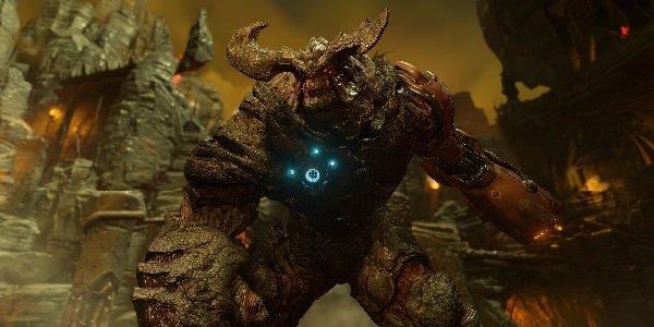 One of DOOM's many demons