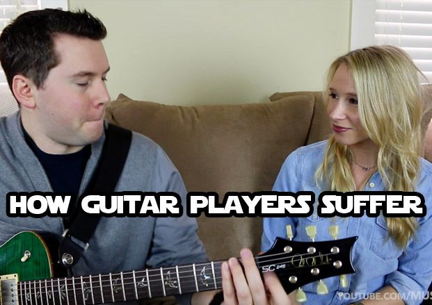 How Guitar Players Suffer