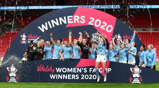 Everton v Manchester City – FA Women's Cup – Final – Wembley Stadium
