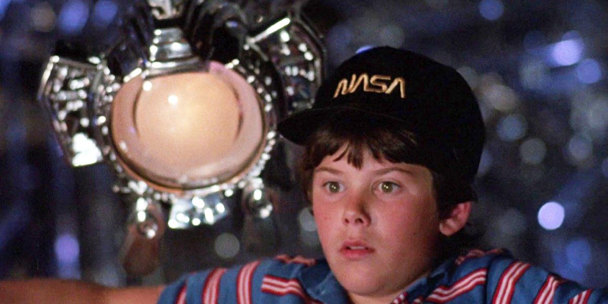 Paul Reubens as Max and Joey Cramer in Flight of the Navigator