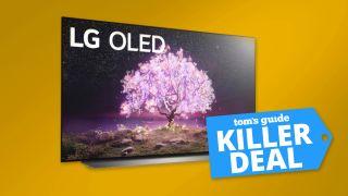 65-inch LG C1 4K OLED TV deal