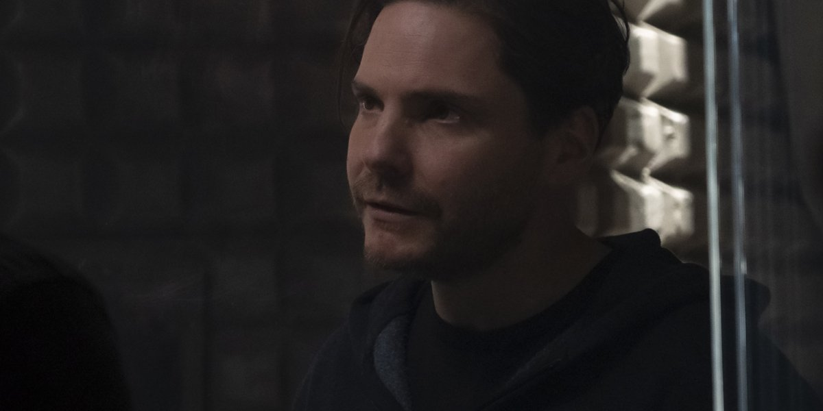 Daniel Bruhl as Baron Zemo in The Falcon And The Winter Soldier