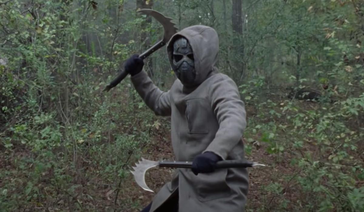 the walking dead season 10 masked stranger