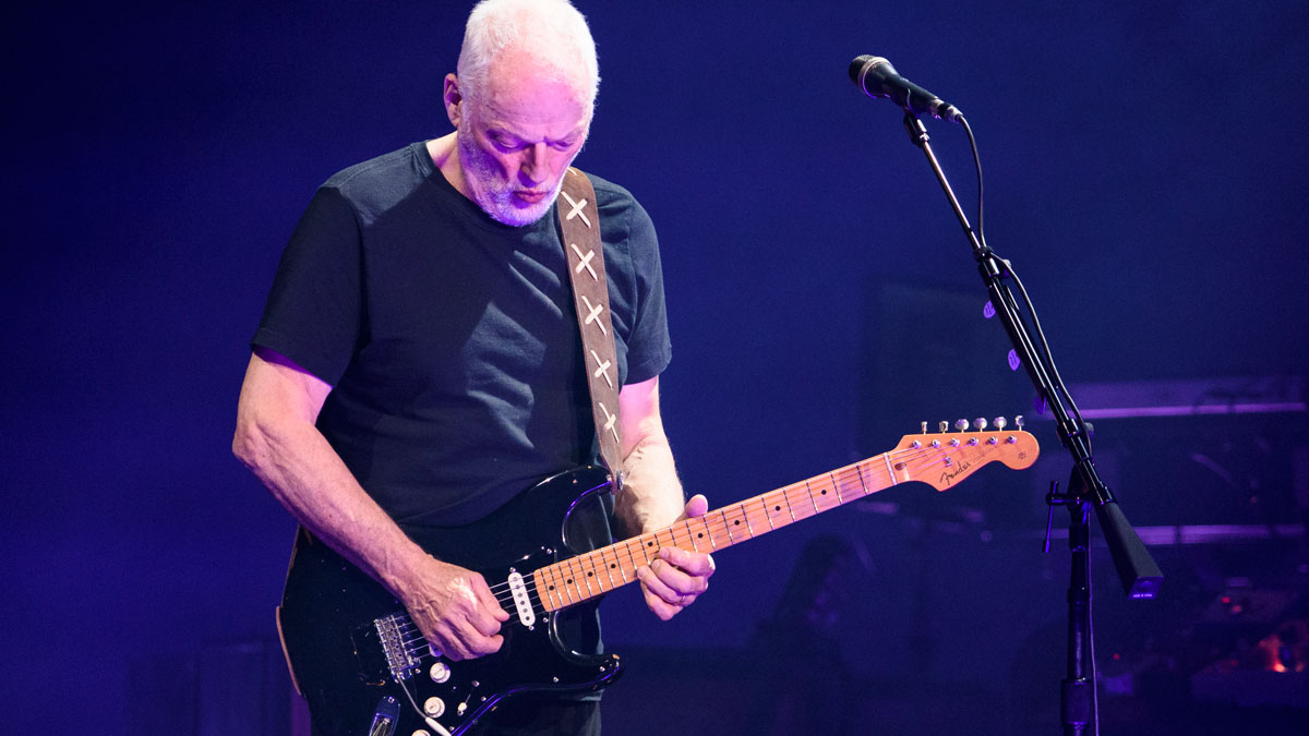 """David Gilmour: """"The Stratocaster enhances the personality of the person playing it"""""""