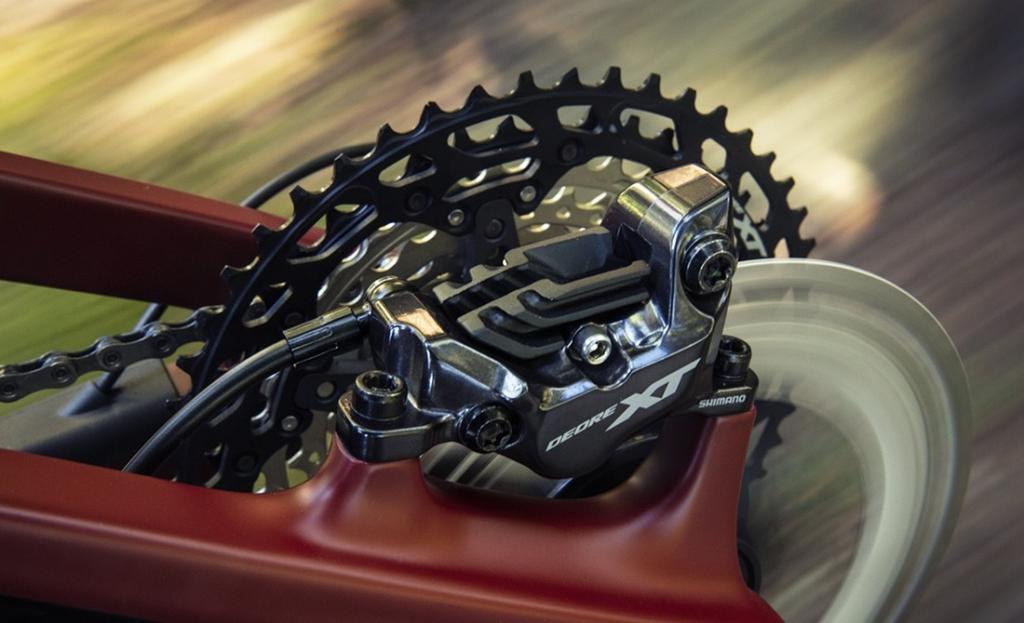 SHIMANO ZEE BR-M640 4-Piston Ice-Tech Hydraulic Disc Lever+Caliper Bike Brakeset