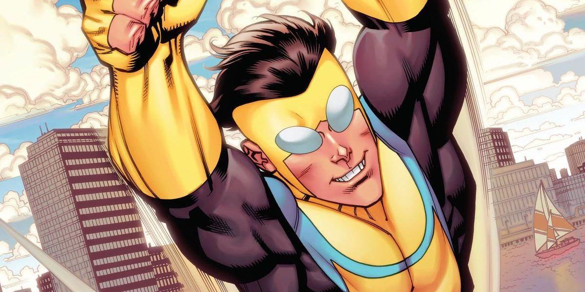 Invincible Mark Grayson Image Comics artwork