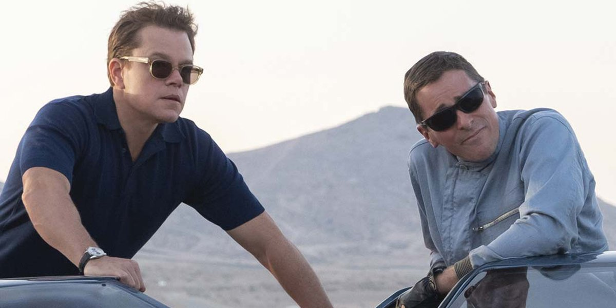 Matt Damon and Christian Bale look like the real Carroll Shelby and Ken Miles in Ford v Ferrari