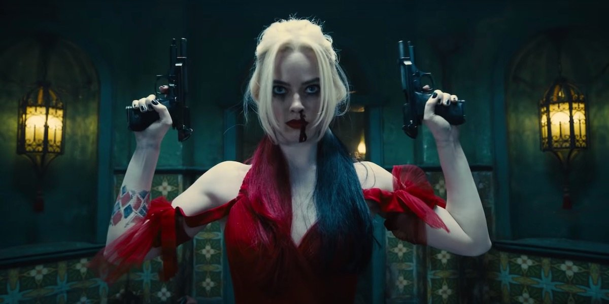 Harley Quinn in the new The Suicide Squad film, executively produced by Zack Snyder.