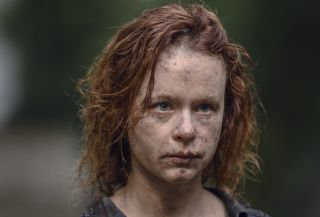 New Walking Dead season 10 images reveal terrifying look at Gamma with and without her mask