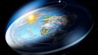 A flat-Earth would look very different from space.