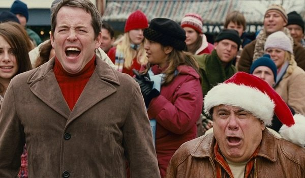 Deck The Halls Matthew Broderick and Danny DeVito are disgusted at Christmas