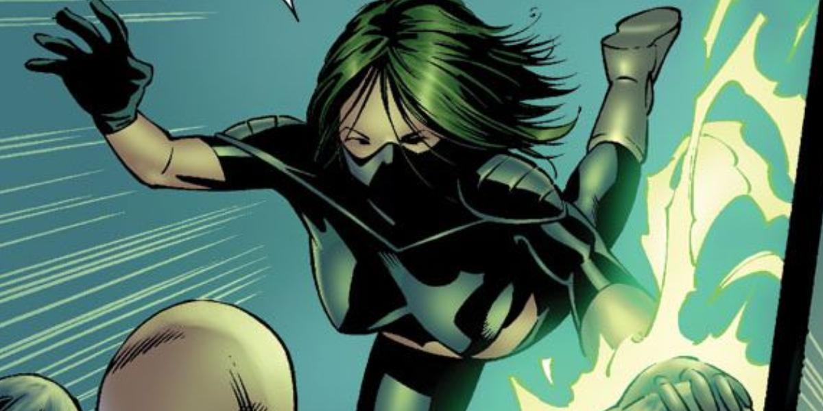 "Marvel Comics assassin Carmilla ""Scorpion"" Black"