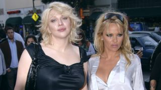 Courtney Love and Pamela Anderson