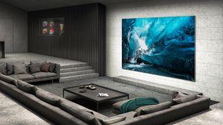 The Wall, arriva il TV 4k MicroLED Samsung da 110 pollici