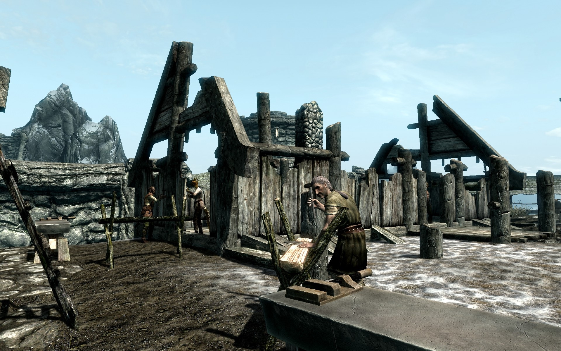 Skyrim Special Edition mods - Helgen Reborn