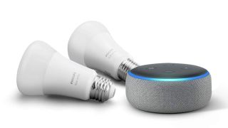 Echo Dot with Philips Hue