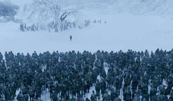 game of thrones wights army of the dead