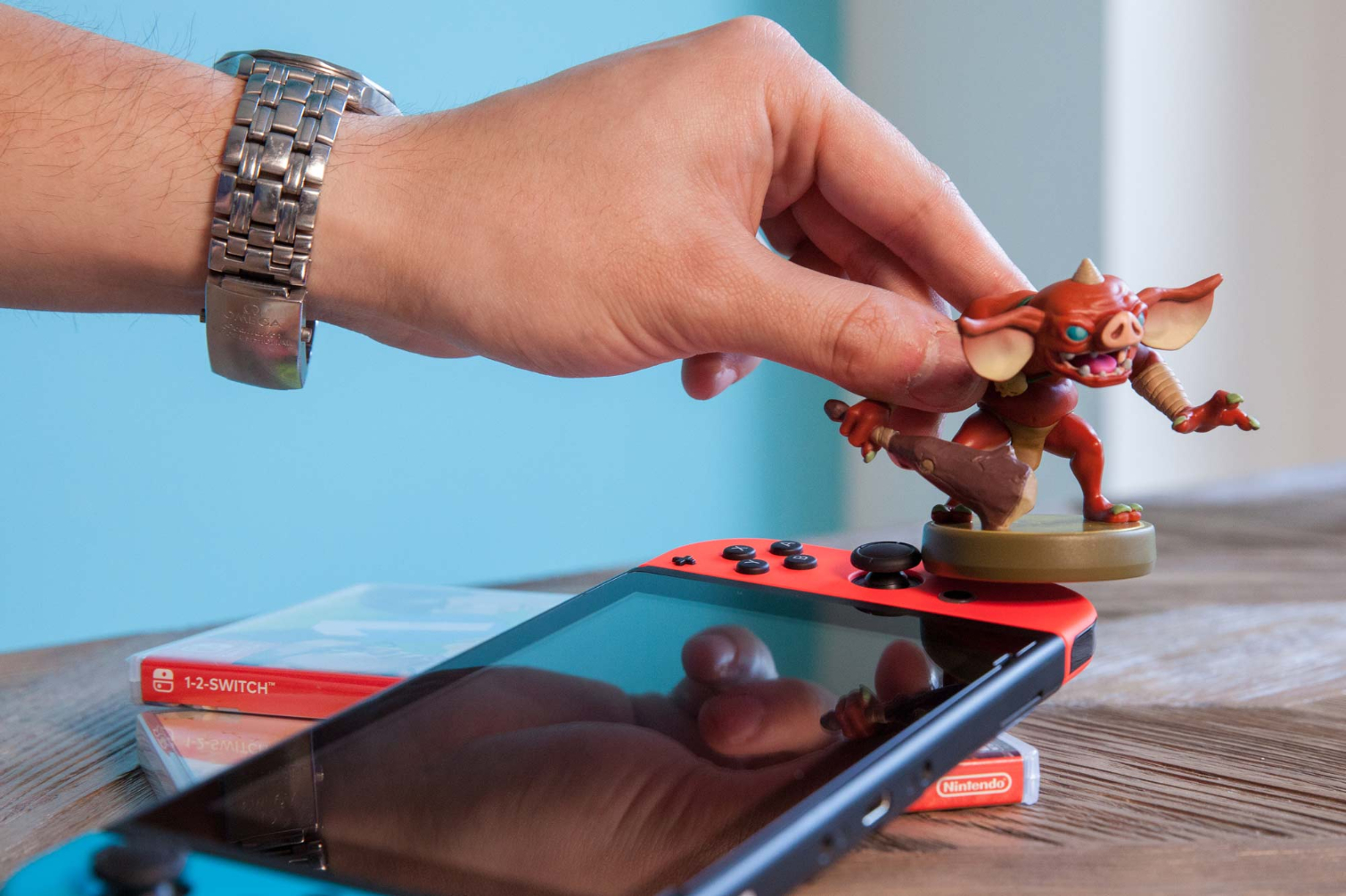 How to Scan Amiibo on Nintendo Switch | Tom's Guide