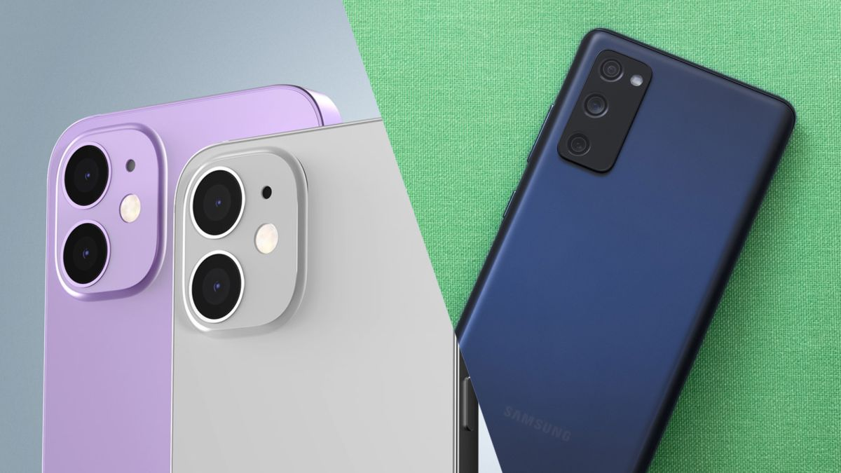 Samsung Galaxy S20 FE vs. iPhone 12: Has Apple's phone met its match? - Tom's Guide