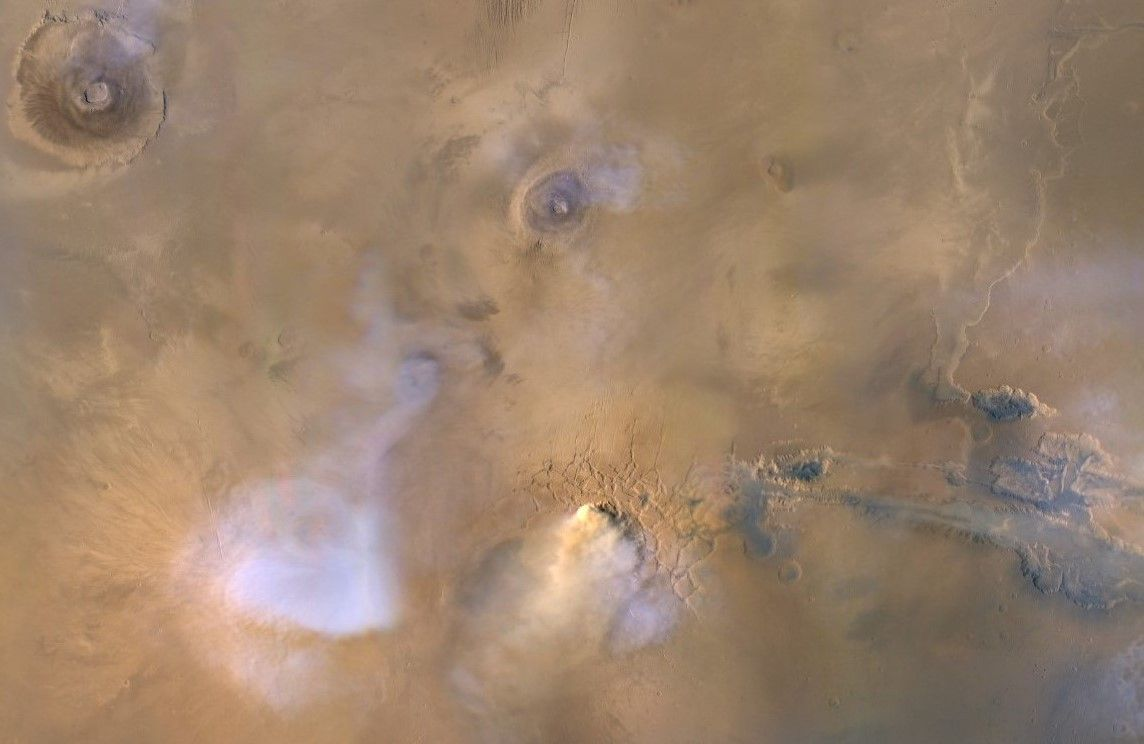 Even small Mars dust storms dry out the Red Planet, scientists find