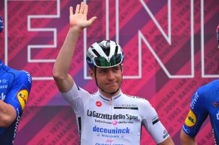 Remco Evenepoel (Deceuninck-Quickstep) at the Giro d'Italia