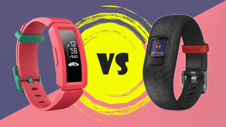Fitbit Ace 2 vs Garmin Vivofit Jr 2 fitness tracker for kids