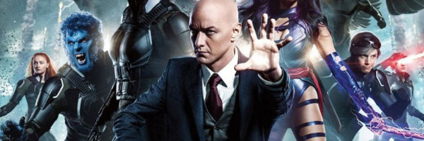 X-Men: Apocalypse Professor Xavier lined up with his students