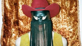 Orville Peck in full mask and hat