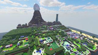 Minecraft Zelda Link's Awakening Koholint Island Demo