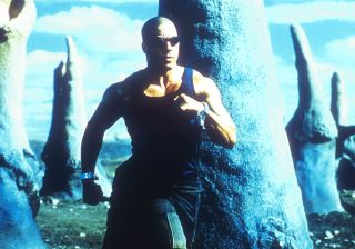 Vin Diesel's at home in the pitch black