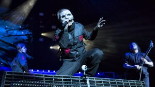 Corey Taylor on stage