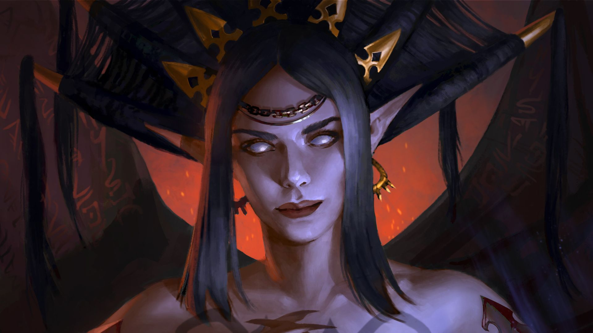 The demon lord and first succubus Nocticula