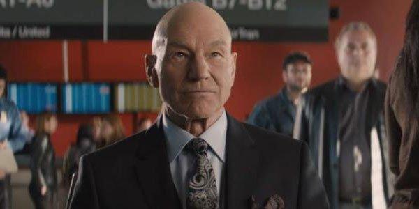 Patrick Stewart as Charles Xavier