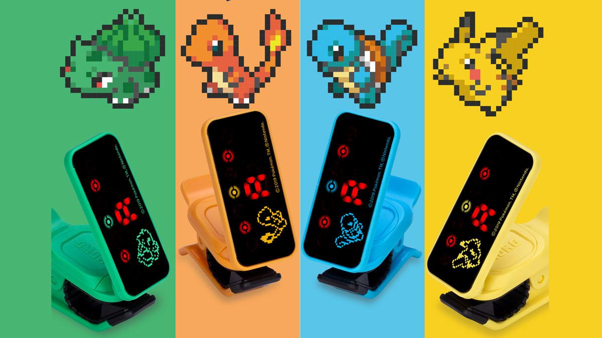 Gotta tune 'em all! Korg unveils Pokémon clip-on tuners