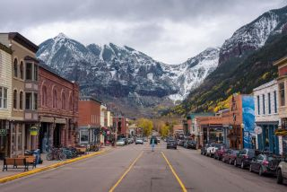 Telluride, in the Rocky Mountains, is a popular ski resort. The town plans to test all of its residents for COVID-19.