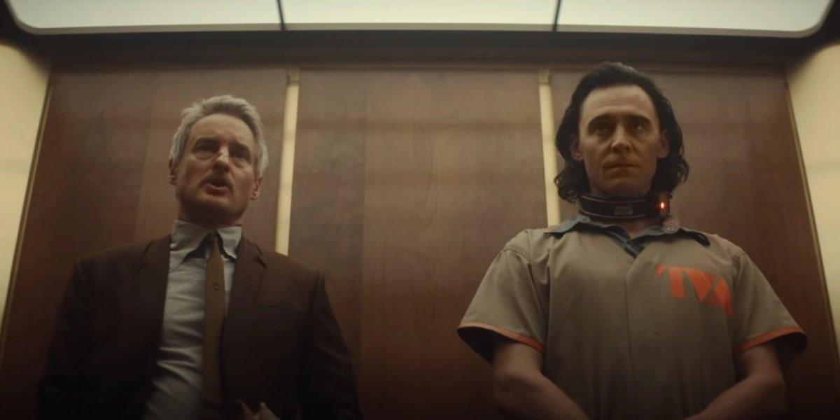 Owen Wilson and Tom Hiddleston on Loki