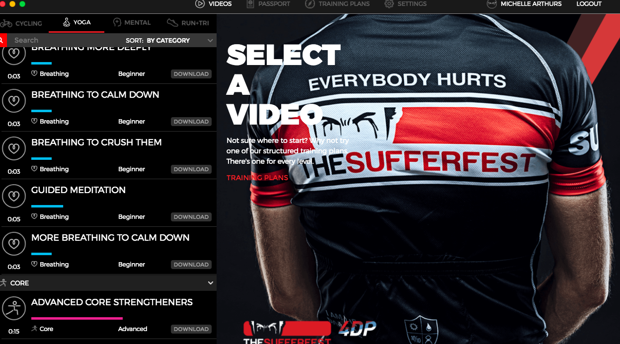 The Sufferfest turbo training app: everything you need to