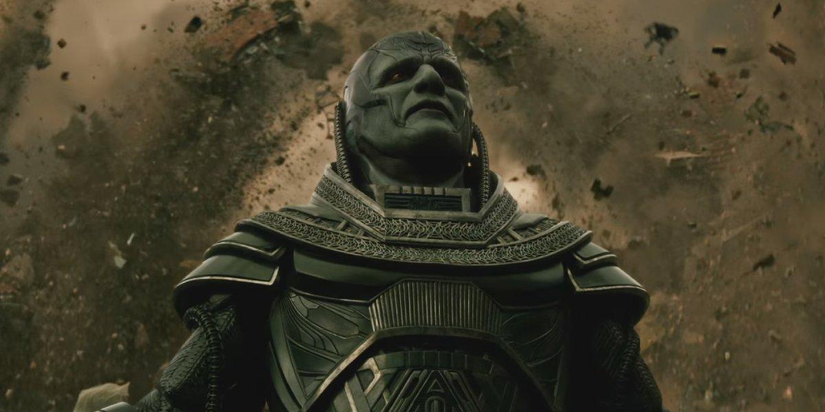 Oscar Isaac as Apocalypse in X-Men: Apocalypse