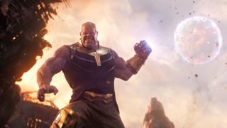 Thanos in Avengers Endgame, one of the best movies on Disney Plus