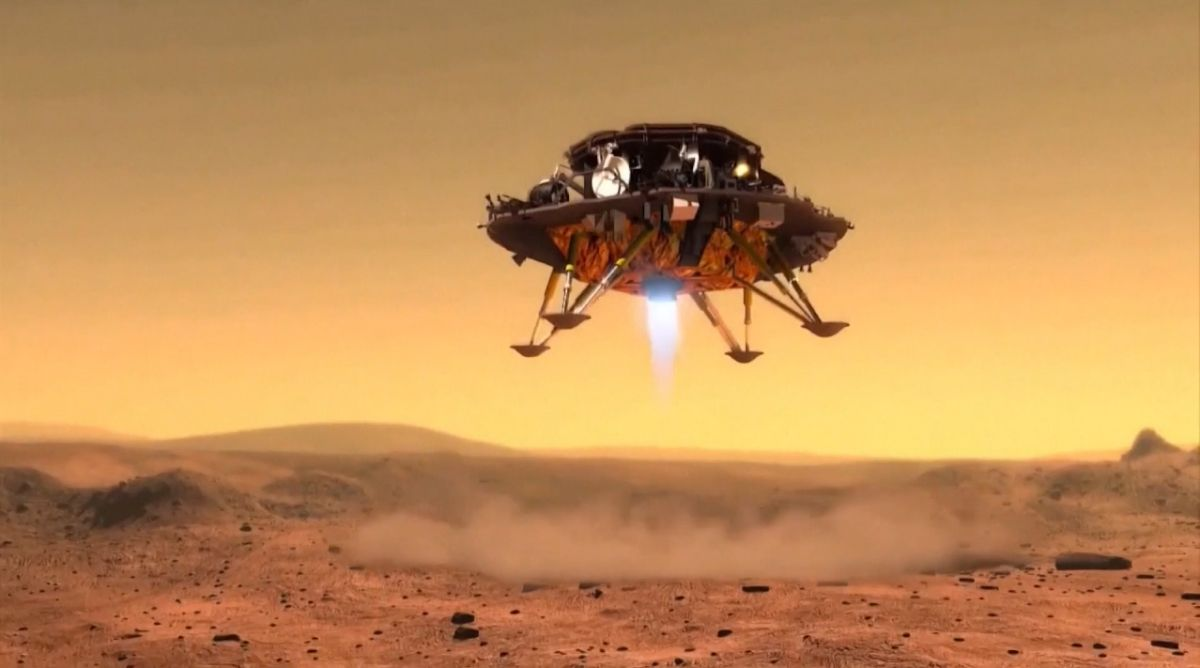 China to attempt its first Mars rover landing today | Space